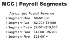 Payroll Sales Segments